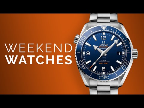 Omega Seamaster Planet Ocean: Grand Seiko Kira Zuri: Rolex Watches To Buy From Home
