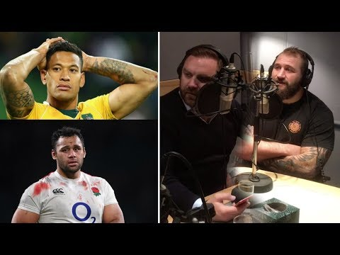 Joe Marler and Andy Goode discuss what's going on with Israel Folau and Billy Vunipola