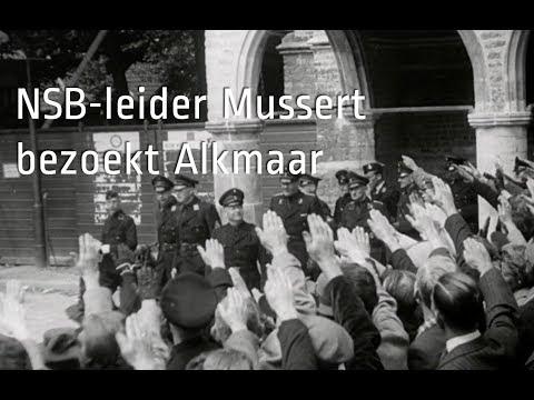 NSB-leider bezoekt Alkmaar