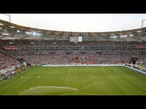 VfB Stuttgart - Hannover 96 19/20 Ultras Stuttgart Cannstatter Kurve TV