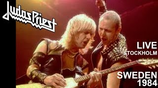 JUDAS PRIEST - Live Sweden 1984