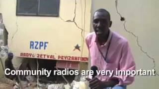 Haiti - Radyo Zetwal Peyizan destroyed