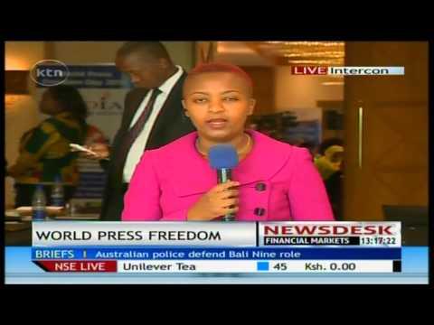 World press freedom day in Kenya
