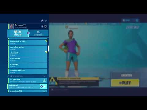 Ps4 Fortnite Live Stream Fortnite Battle Royal |Good Builder | Happy Fathers Day