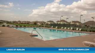 Lakes of Avalon Community - Lennar Houston