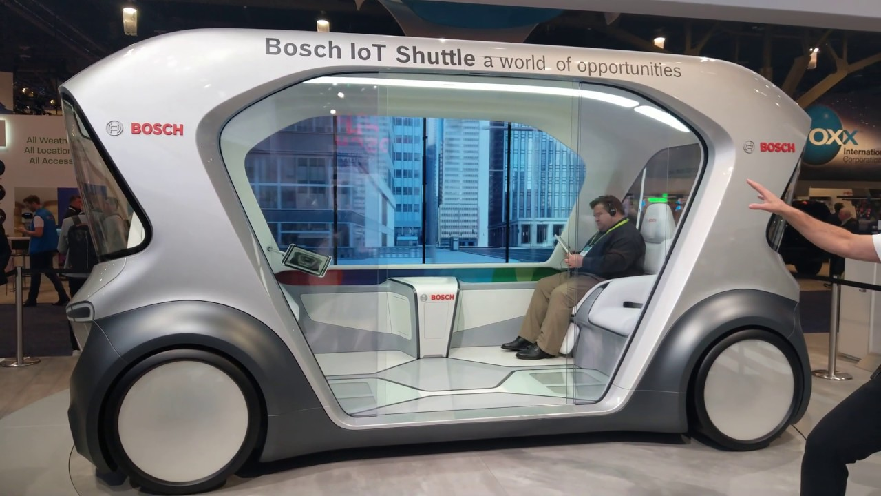 The Future of Autonomous shuttles by Bosch