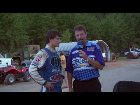 NeSmith Dirt Late Model Series Pre Race Interviews 411 Motor Speedway August 6th, 2016