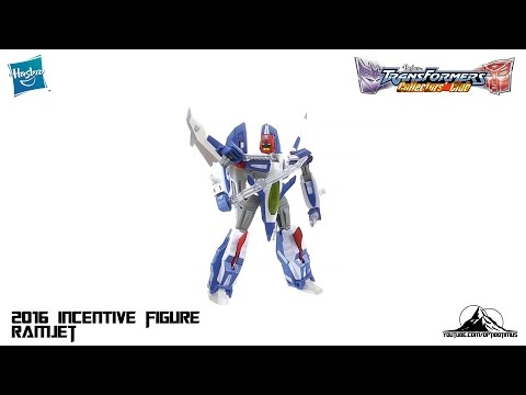 2016 Transformers Collectors Club Deluxe Class RAMJET Video Review