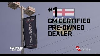 Capital GMC Buick is Northern Alberta's #1 GM CPO Dealer!