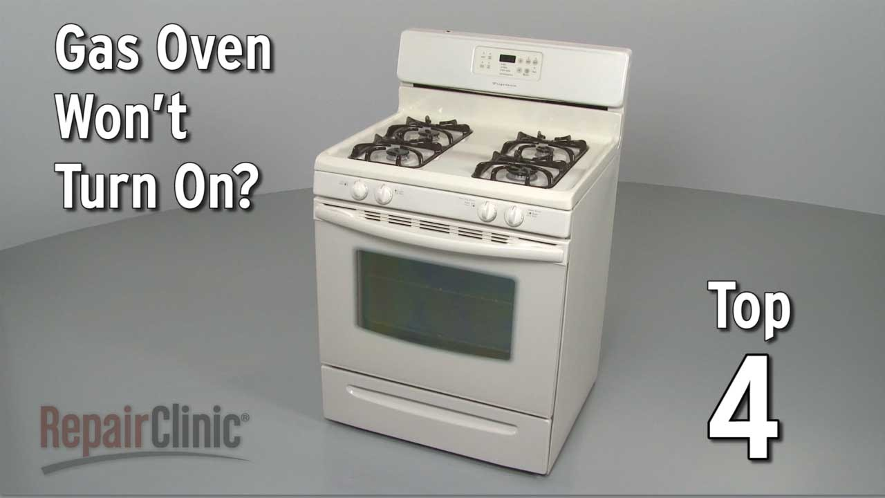 Kenmore Frigidaire Parts >> Top 4 Reasons Oven Won't Turn On — Gas Range Troubleshooting - YouTube