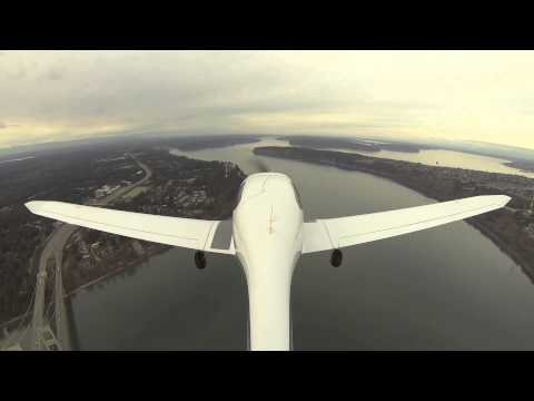 Seattle local training flight DA40