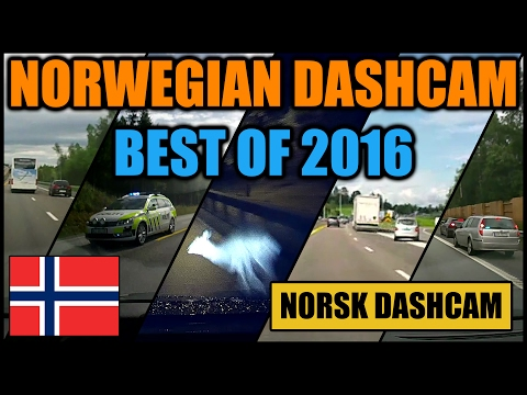 NORWAY DASHCAM COMPILATION - BEST OF 2016