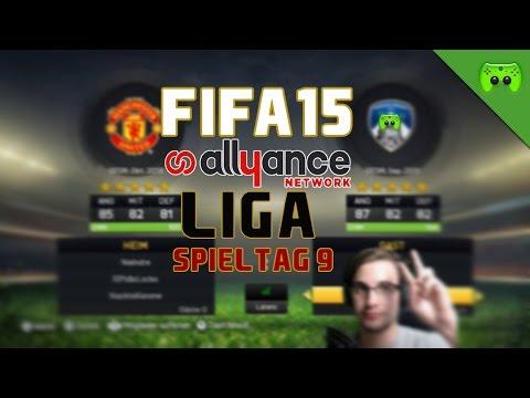 FIFA 15 Allyance Liga # Spieltag9 - Nils gegen Goliat «» Let's Play FIFA 15 | FULLHD