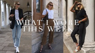 What I Wore This Week I All The Outfits