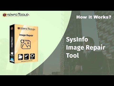 Repair damaged photos from internal/external drives Using SysInfo Image Repair Tool