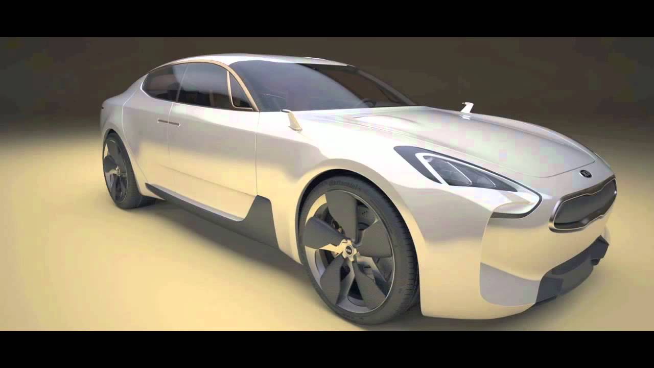 kia gt concept heads for production - youtube