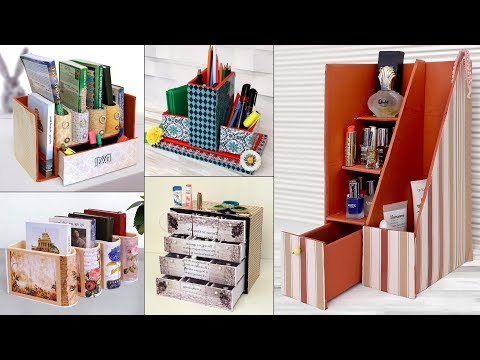 9 Best Ever Organization Ideas....Handmade Craft !!! DIY Cardboard Craft