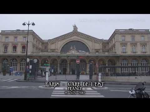Paris to Istanbul by train. InterRail