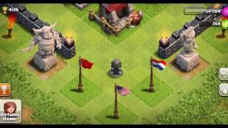 Clash of Clans - INVINCIBLE BARBARIAN KING! ALL HEALERS + KING! (Funny Moments + Insane Gameplay)
