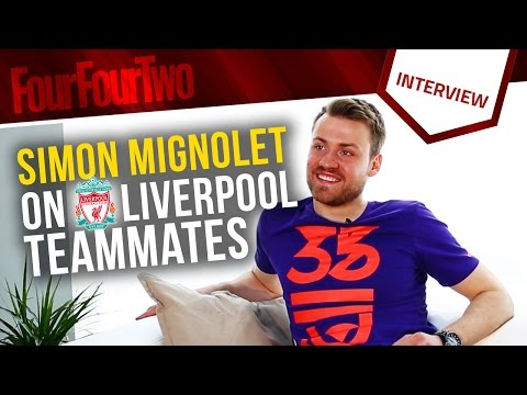 "Simon Mignolet | ""Daniel Sturridge fancies himself as a singer! | Liverpool teammates"