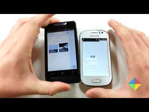 [Comparativa] Samsung Galaxy Fame Vs. Motorola RAZR D1