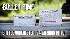 Bullet Time - Battle Winchester 124 Grain NATO   - New 2018 vs Old Pre 2018 Chronographed