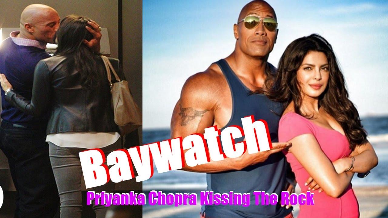 Priyanka Chopra And Dwayne Johnson Hot Romance | Priyanka ...