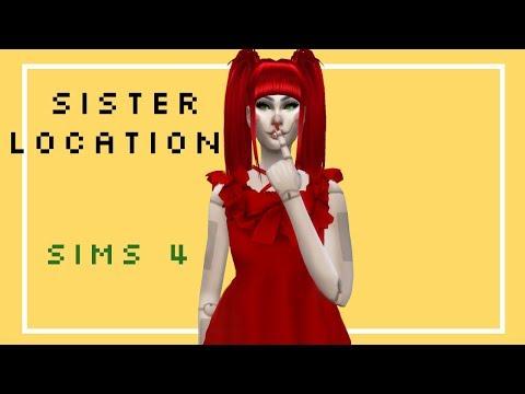 //Sims 4 CAS//FNAF Sister Location//
