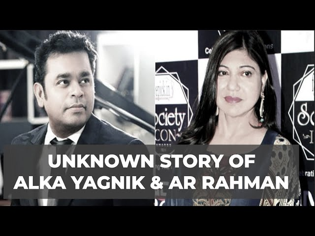 Why Alka Yagnik said NO to playback for A.R.Rahman's Roja? One of the most prolific Indian singer