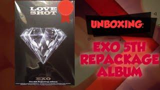 Unboxing EXO 3rd Album Repackage LOVE SHOT PHILIPPINES