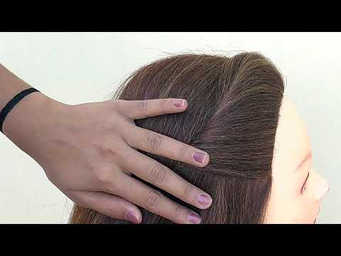 Very Easy Side Puff Hairstyle || 1 Minute Hairstyles Updos thumbnail