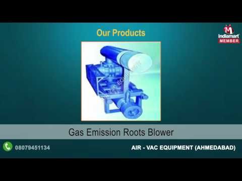 Industrial Blowers And Compressors By Air - Vac Equipment, Ahmedabad