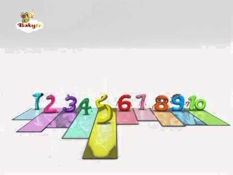Charlie and the Numbers. Numbers Song, Baby TV