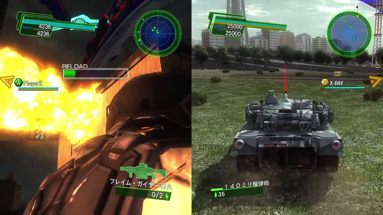 地球 防衛 軍 4.1 アーマー 地球防衛軍4.1(PS4)-Part4~自動アーマー稼ぎに着手!