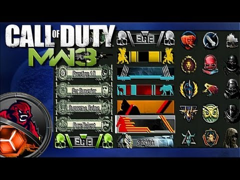 MW3 - How To Get All Titles & Emblems (challenges)