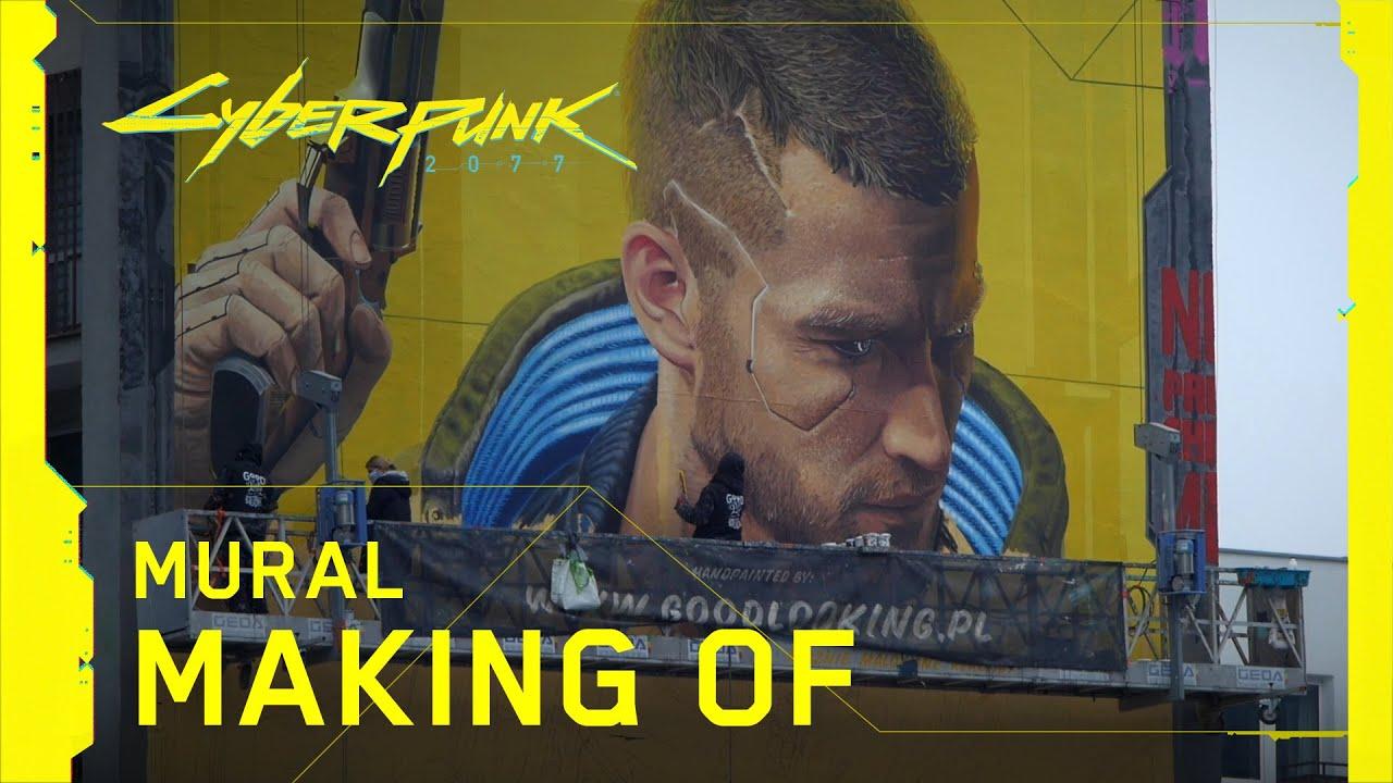 Cyberpunk 2077 — Mural: Making Of - Otrzymano współrzędne.  Lokalizacja: Warszawa, Polska.   Skanowanie graffiti w toku…