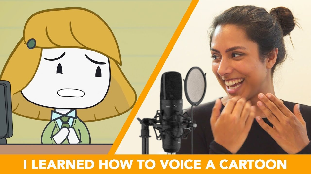 I Learned How To Voice A Cartoon