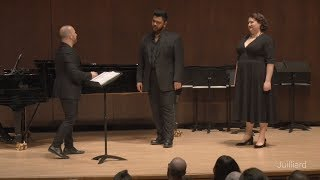 Act 1 Duet from Mozart's 'Don Giovanni'   Juilliard Yannick Nézet-Séguin Vocal Arts Master Class