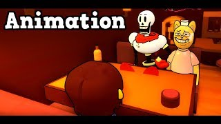 Nobody Likes Papyrus! Funny Cinematic Undertale AU Animation Roleplay