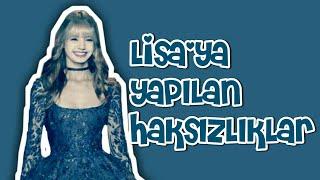 Lisa'ya Yapılan Haksızlıklar   Lisa'nın Yaşadığı Zorluklar   KPOP STYLE