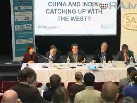China & India: Catching Up With the West?