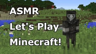 "ASMR Let's Play Minecraft (PC) with The Plague Doctor in ""Rebuilding Sanctuary"""