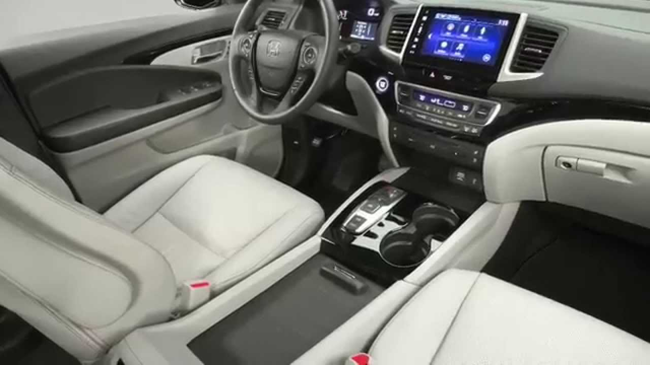 2016 honda pilot elite interior design automototv youtube for Elite interior designs