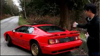 143CAR.com - My Car: Ron Joe's 1990 Lotus Esprit Turbo SE(Do you think a modern supercar is too boring, too safe? Think a Ferrari Testarossa too slow, and a Lamborghini Countach too common? Watch Jonathan of ..., 2013-03-22T04:59:21.000Z)