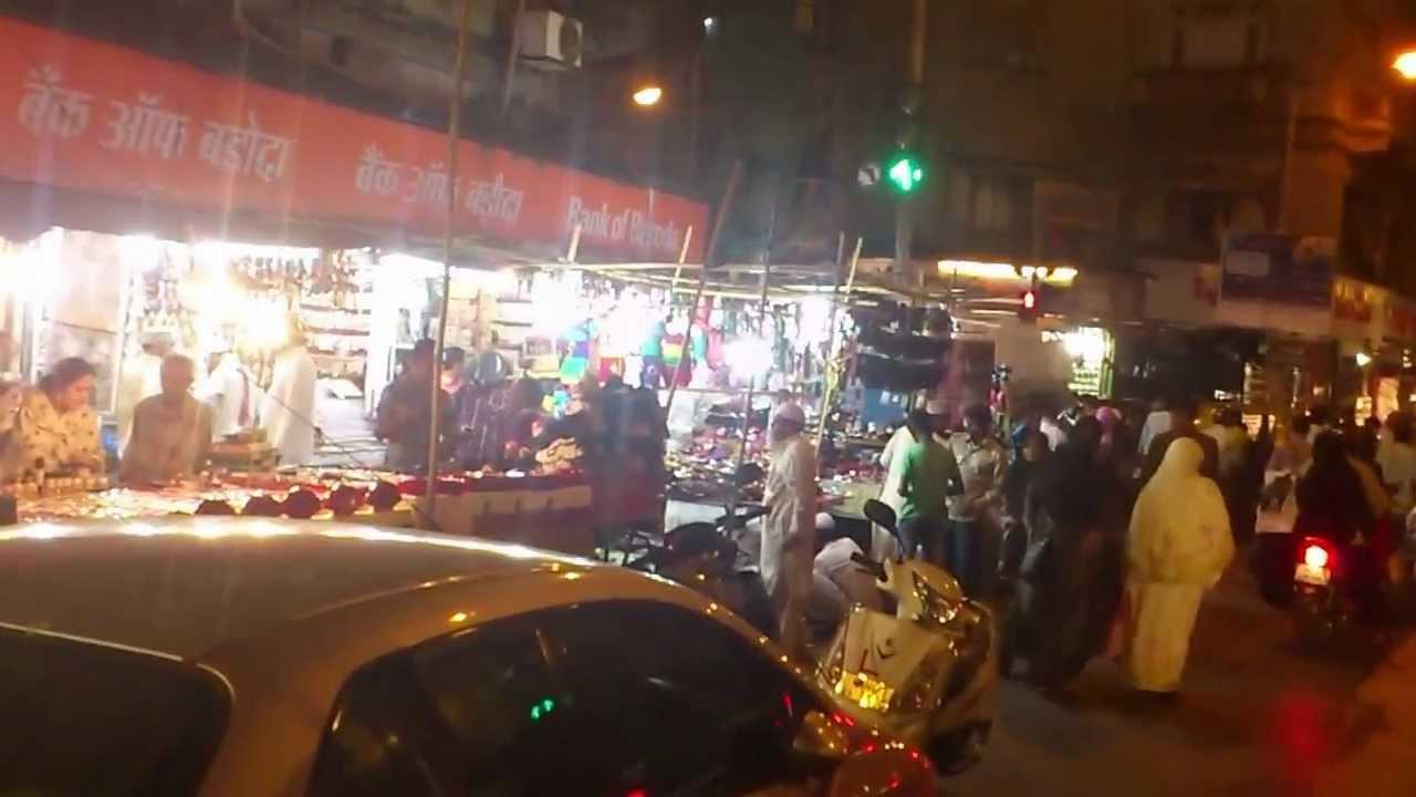 Mohammed Ali Road in Mumbai