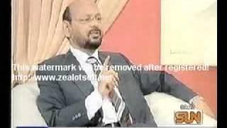 Dr Hilal Akhtar Mahpuri At Sun TV Part 1