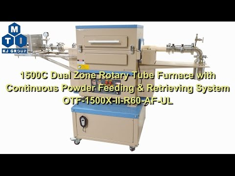 How To Install The Continuous Powder Feeding & Retrieving System For OTF-1500X-II-R60-AF-UL