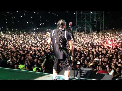 Metallica - Master of Puppets - Santiago 2014 - Desde el Escenario (From the stage)