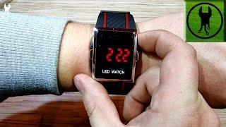Часы наручные LED WATCH из Китая