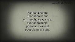 Kannana kanne song lyrics from visvasam